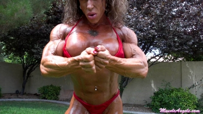 Jennifer Kennedy ~ Oiled and Hard