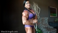 Helle Trevino talking about her muscles