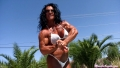 Debbie Bramwell  'Oiled and Flexing'