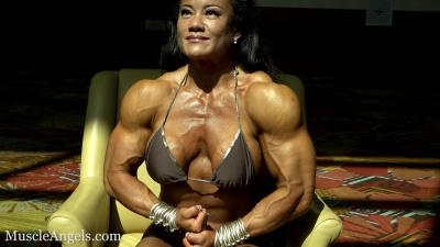 Phyllis Huang Pecs and Veins in the Sun