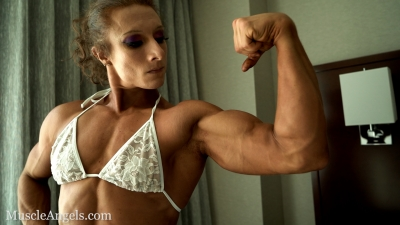 Emily Schubert Hard Arms and Pecs