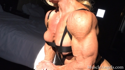 Trisha Smick veins in the shadows