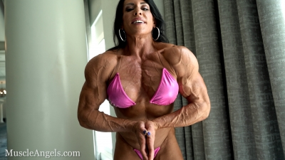 Sherry Priami Super Striations Pecs and Arms