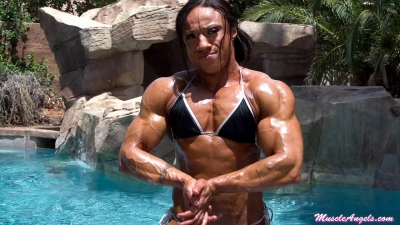 Karen Garrett ~ Oiled-up Muscle
