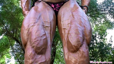 Lisa Giesbrecht ~ Hard, Ripped, Oiled