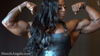 Monique Jones  massive ripped and thick