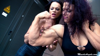 Oana and Julieta ~ Romanian Muscle Beauties
