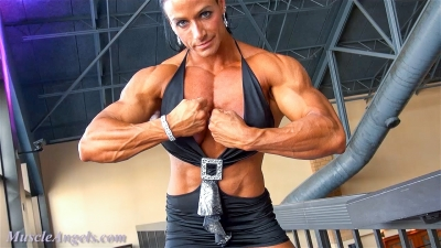 Theresa Ivancik ~ Magnificent Muscle