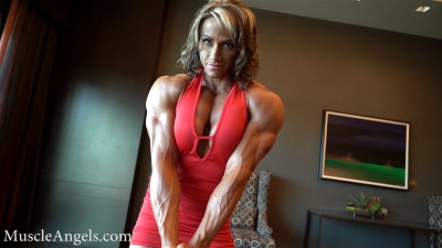Theresa Ivancik  maximum muscularity